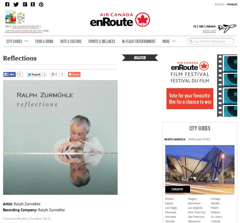 Ralph Zurmuhle Offical Web Site Cds